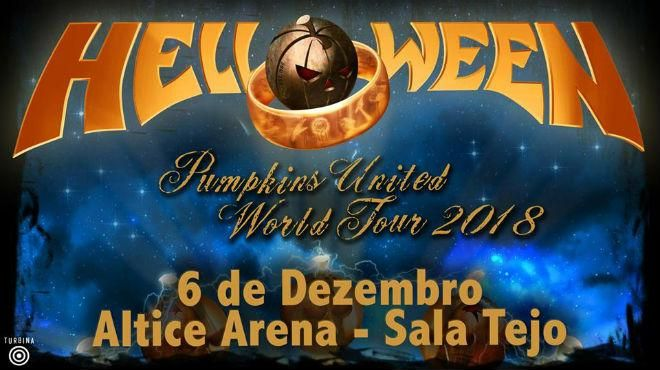 Helloween - Pumpkins United World Tour 2018