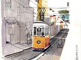 Urban Sketchers em Lisboa