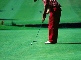 Jogar golfe perto de Lisboa
