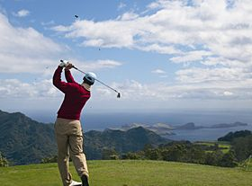 マデイラ (Madeira) でゴルフを楽しむ