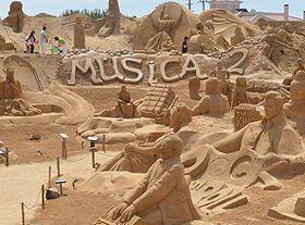 国际沙子雕塑节
