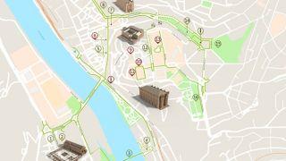 Mapa Coimbra - acessível