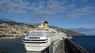 Porto da madeira&#10Local: Madeira&#10Foto: Administração dos Portos da Região Autónoma da Madeira, S.A.