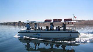 Passeio de barco&#10Luogo: Rio Guadiana&#10Photo: Turismo do Alentejo