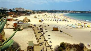 Praia da Rocha&#10Local: Portimão&#10Foto: Câmara Municipal de Portimão