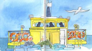 Urban Sketchers - Róisín - Olhão &#10Luogo: Algarve&#10Photo: Róisín
