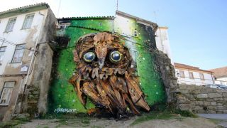Bordalo II&#10Place: Covilhã&#10Photo: Wool / Bordalo II