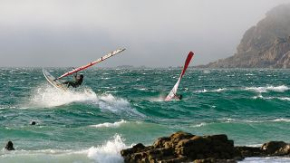 Surfing - Windsurf&#10Место:Guincho&#10Фотография:JTCE - Junta de Turismo da Costa do Estoril