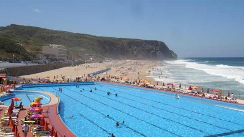 Praia grande sintra for Piscina elvas