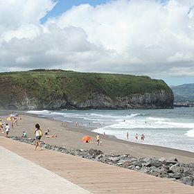 Praia do Areal de Santa BárbaraLugar Ribeira Grande - São MiguelFoto: ABAE