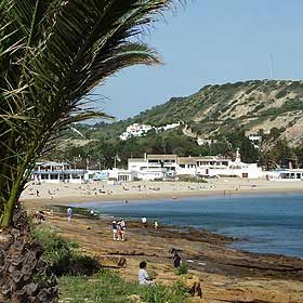 Praia da LuzLocal: LagosFoto: ABAE - Associação Bandeira Azul da Europa