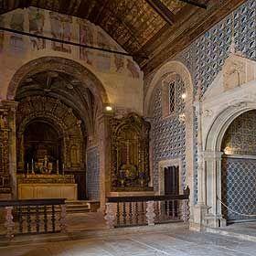 Convento de Santa IriaLieu: TomarPhoto: Região de Turismo dos Templários