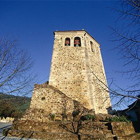 Torre templária de  DornesLieu: Ferreira do ZezerrePhoto: Região Turismo dos Templários