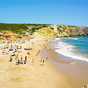 Praia do Zavial