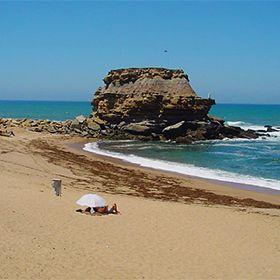 Praia de Poro NovoPlaats: Torres VedrasFoto: Associação da Bandeira Azul Europa