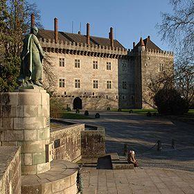 Paço dos Duques de BragançaLugar GuimarãesFoto: Direcção Regional de Cultura do Norte