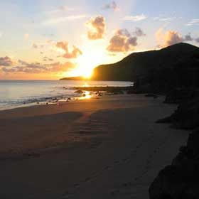 Praia FormosaLocal: Ilha de Santa Maria - AçoresFoto: ABAE - Associação Bandeira Azul da Europa