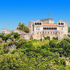 Castelo de LeiriaLugar LeiriaFoto: shutterstock_saiko3p
