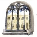Urban Sketchers em Lisboa - Lis Watkins - Mosteiro dos Jerónimos&#10Place: Lisboa&#10Photo: Lis Watkins