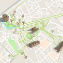Mapa de Aveiro - Itinerário Acessível &#10Lugar Aveiro&#10Foto: ICVM