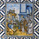 Painel de Azulejos &#10Local: Penedo, Colares