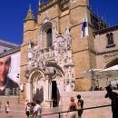 Mosteiro de Santa Cruz - O Claustro do Silêncio e a Sacristia