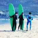 Cascais Surf School&#10Local: Cascais&#10Foto: Cascais Surf School