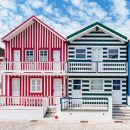 Costa Nova Houses_Aveiro&#10地方: Nova Houses_Aveiro&#10照片: shutterstock_alexilena