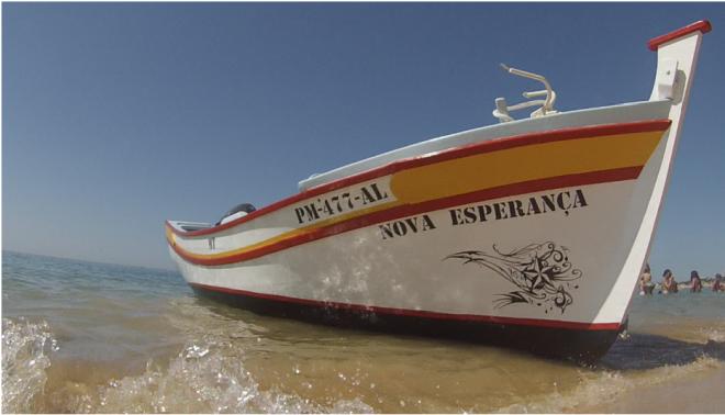 Barco tradicional - Traditional Boat - Algarve