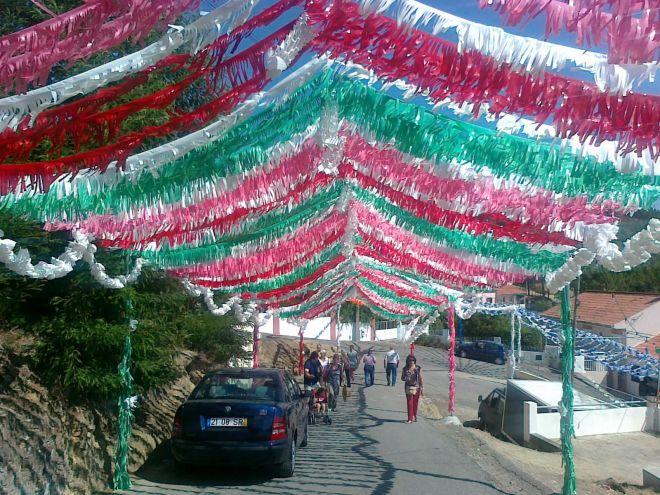 Pereiro de Mação: Rua de Santo António (parte final) em 2013